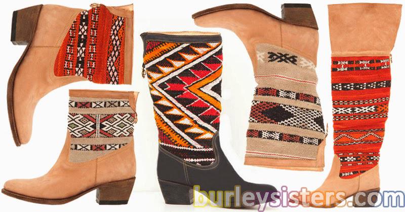 kilim desenli ayakkabı ve çizmeler, ayakkabı modelleri